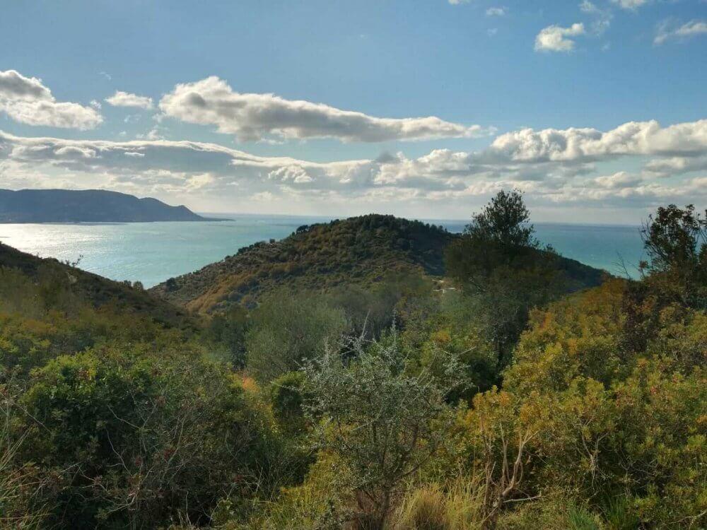 Wandern auf Punta Tresino Cilento